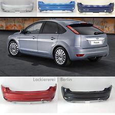 Ford Focus Schrägheck 2008-2011 STOßSTANGE HINTEN LACKIERT IN WUNSCHFARBE, NEU!