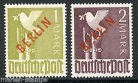 GERMANY BERLIN SCOTT#9N33/34 RED OVERPRINTS MINT NEVER HINGED FULL OG