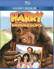 Harry and the Hendersons NEW Bluray/case/cover only-no digital Lithgow comedy