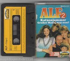 MC KASSETTE  ALF Folge 2 mit 2 Abenteuern TV Original Aufnahme - Karussell