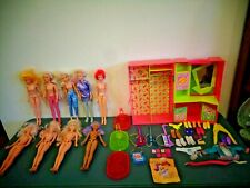 Vintage 1980'S Hasbro Jem And The Holograms Dolls Case Accessories Lot