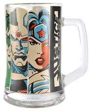 DC COMICS JUSTICE LEAGUE DRINKING GLASS TANKARD MUG