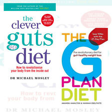 Clever Guts Diet,The G Plan Diet Collection 2 Books Set New Paperback