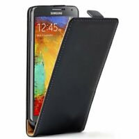 Etui Housse Coque Cuir PU Vertical Noir Pour Samsung Galaxy Note 3 Neo Lite
