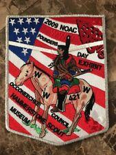 Lodge 421 Occoneechee 2009 NOAC 2-piece flap set RARE SMY Border Boy Scout BSA