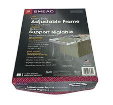 Smead Heavy Duty Adjustable Hanging Folder Frame Letter Steelplastic Each