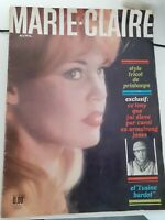 Rivista Mensile Maria Claire B.B Brigitte Bardot Avril 1961 N° 78