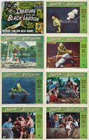 CREATURE FROM BLACK LAGOON (1954) U.S. Lobby Cards Complete Set of 8
