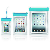 Waterproof Underwater Pouch Dry Bag Case Cover For Tablet iPad iPhone 3 Size