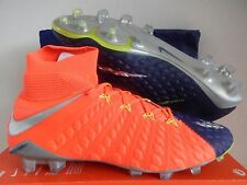NIKE HYPERVENOM PHANTOM III DF FG DEEP ROYAL BLUE-CHROME SZ 10.5 [905274-408]