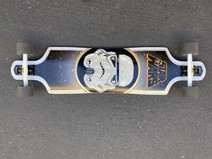 Star Wars Santa Cruz Cruzer Stormtrooper Rare Used Longboard