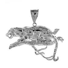 12.0 gram Sterling Silver Panther Large Pendant