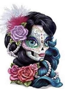 DAY OF THE DEAD (10) CROSS STITCH KIT