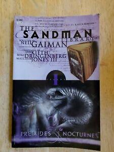 The Sandman: Preludes & Nocturnes. DC Comics/Vertigo. 1995. Gaiman, Kieth, Dring