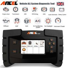 Full System Diagnostic Scanner ABS SRS Oil Reset ESP OBD2 Code Reader Ancel UK