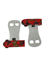 Push Athletic Gymnastics Youth Hand Grips (Red Buterfly, Large)