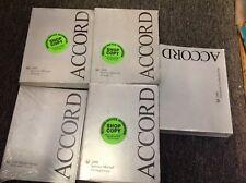 2008 HONDA ACCORD Service Repair Shop Manual Set OEM W ETM Supplement + Body Bk