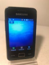 Samsung Tocco Lite 2 GT-S5220 - Absolute black (Unlocked) Mobile Phone Star 3