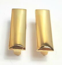 US Army Officer Rank Bars Second Lieutenant 2nd Lt Repro WW2 American Gold