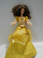 Disney Barbie As Belle Collector Edition 1999 Beauty And The Beast Dressed