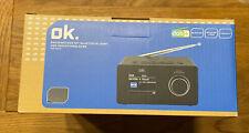 OK OCR 530-B CLOCK RADIO DAB+ Radiowecker Neu & OVP