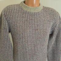 Skagg A Ragg Mens Vintage Sweater Medium Wool Blend USA Made Hoyle Mills