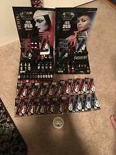 LOT OF 83 STAR WARS COVER GIRL MAKEUP, MASC/LIPST/POLISH/LIP GL/W 2 DISPLAYS,NEW