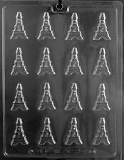 M246 B/S Eiffel Tower Detailed Chocolate Candy Soap Mold with Instructions