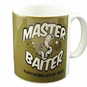 Master Baiter Mug - Funny Fishing Angling Carp Sea Fly Coarse Match Gift Cup