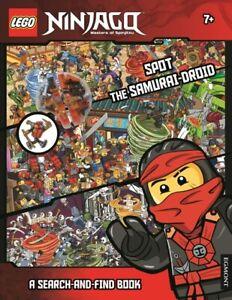 Lego Ninjago: Spot the samurai-droid: a search-and-find book (Paperback)