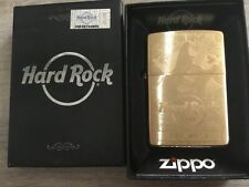 ZIPPO BRASS HARD ROCK CAFE KEY WEST