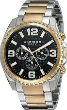 Akribos XXIV AK774TTG Mens Watch $625 MSRP