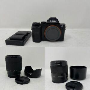 Sony A7 ILCE-7K Mirrorless Digital Camera w/ 2 Lenses 50mm F1.8 & 28-70mm F3.5