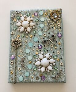 Recycled Jewellery Art 'Lovely Day' By L.S.Summers