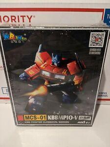 Transformers KBB Optimus Prime MCS-01 MP10-V Master Classical Series Figure USA
