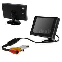 """3.5"""" Car Rear View Monitor TFT LCD Color For Car Backup Camera DVD VCD PAL/NTSC"""