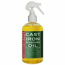 Cast Iron Oil Seasoning, Conditioning for Cast Iron Foodieville  SEE VIDEO BELOW