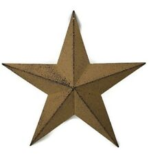 Country Primitive Barn Star 12 inch Mustard Yellow Farmhouse Decor