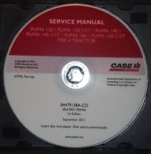 Custodia IH Puma 130 130CVT 145 145CVT 160 160CVT Tier 4 Trattore Service Manual