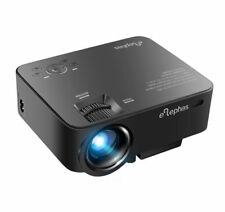 Elephas T20 1500 Lumens HD Portable Projector - Black