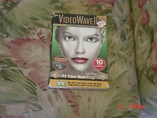 VideoWave III (PC, 1999)  2 disc + PhotoVista cd, Add MP3 to your videos