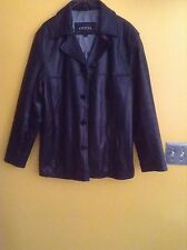 Guess Mens Leather Peacoat Size  Small  Genuine Leather