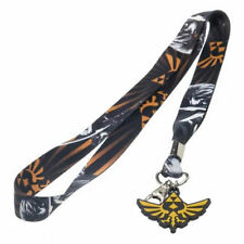 OFFICIAL THE LEGEND OF ZELDA ALL OVER TRIFORCE PRINT LANYARD *BRAND NEW*