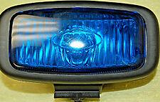 NEW Mini Rectangular Strobe Head Warning Light Black Housing SH4500 Blue - S6013