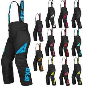 FXR Racing F19 Clutch Insulated Youth Winter Sports Snowboard Snowmobile Pants