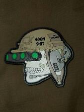 Tactical Goon (911tacmed) PVC Patch Custom cut 2.5in