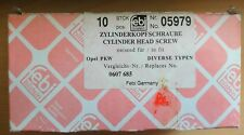 Cylinder Head Bolt 0607685 05979 pack of 10 new and sealed