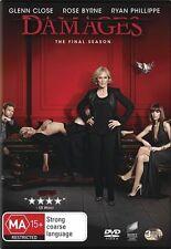 Damages: Season 5 (The Final Season) NEW R4 DVD