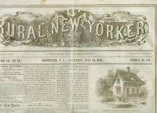 Newspaper California Vigilance Committee Martin Van Buren 1856