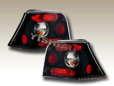 1999 2000 01-2005 VW Golf MK4 Tail Lights JDM Black NEW